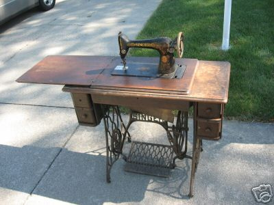 Treadle machine