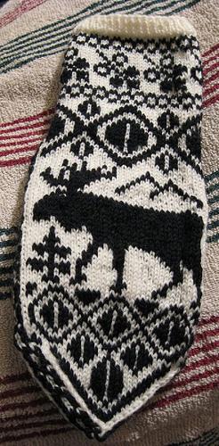 Moose mitten
