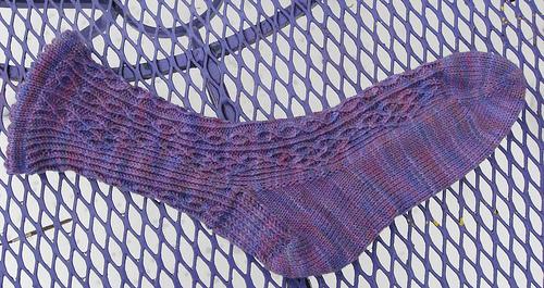 Window Pane socks